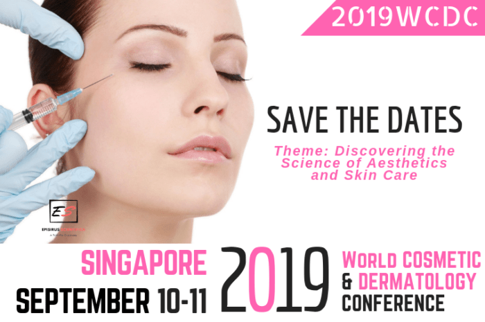 Episirus Scientifica : 2019 World Cosmetic and Dermatology